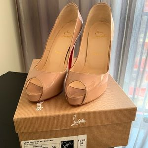 Very Prive 120 Patent Nude